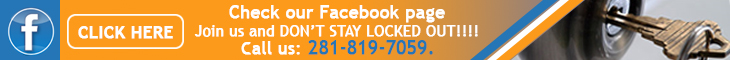 Join us on Facebook - Locksmith League City
